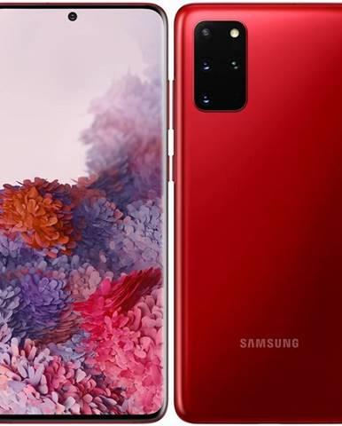 Mobilný telefón Samsung Galaxy S20+ červený