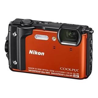 Digitálny fotoaparát Nikon Coolpix  W300 + 2 v 1 plávací popruh