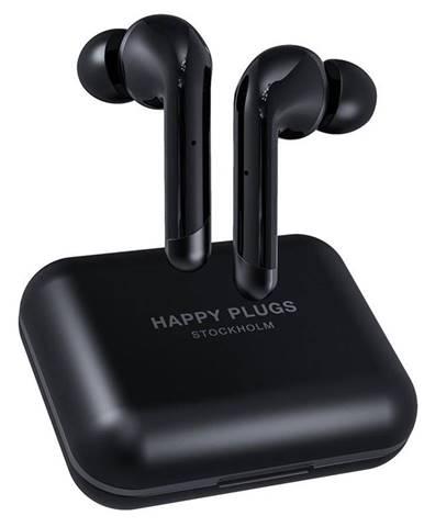 Slúchadlá Happy Plugs Air 1 Plus In-Ear čierna
