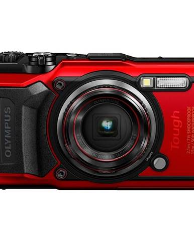 Digitálny fotoaparát Olympus TG-6 červen