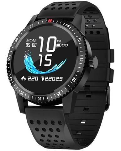 Inteligentné hodinky Carneo Gear+ sport čierna