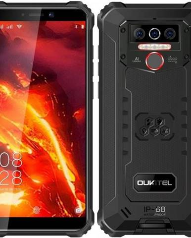 Mobilný telefón Oukitel WP5 Pro čierny/červený