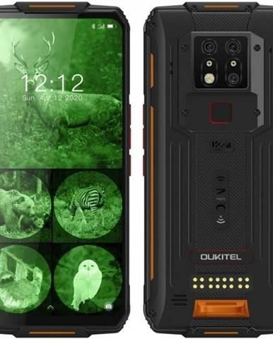 Mobilný telefón Oukitel WP7 čierny/oranžový