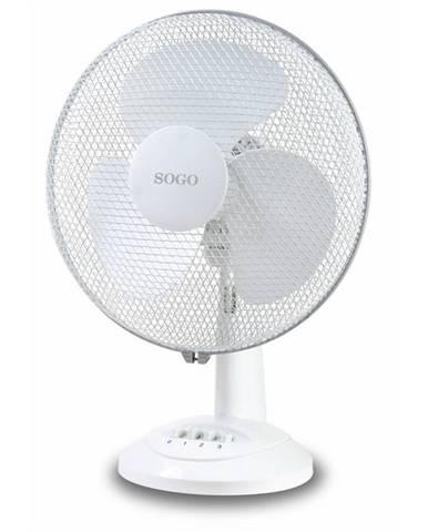 Ventilátor stolový Sogo SS-21410 biely