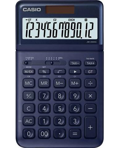 Kalkulačka Casio JW 200 SC NY - tmavě modr