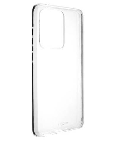 Kryt na mobil Fixed na Samsung Galaxy S20 Ultra priehľadný