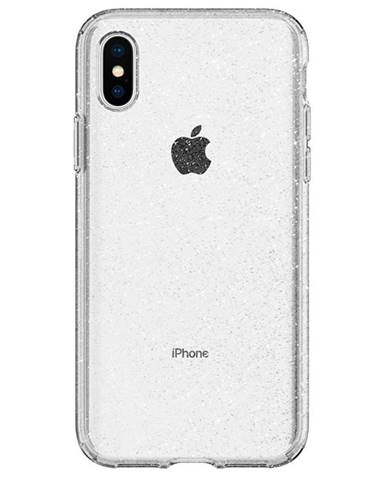 Kryt na mobil Spigen Liquid Crystal Glitter na Apple iPhone Xs/X