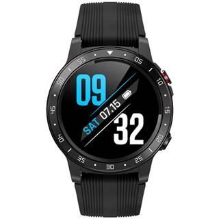 Inteligentné hodinky Carneo G-Cross platinum čierna