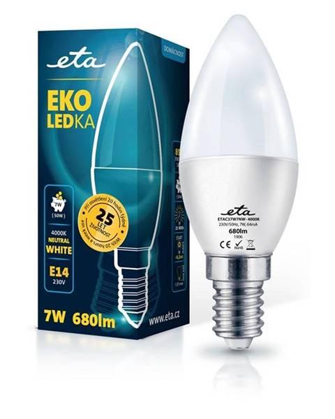 Eta LED žiarovka ETA EKO LEDka sviečka 7W, E14, neutrálna biela