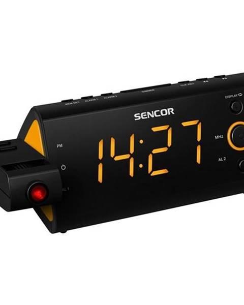Sencor Rádiobudík Sencor SRC 330 OR čierny/oranžov