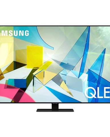 Televízor Samsung Qe75q80ta strieborn