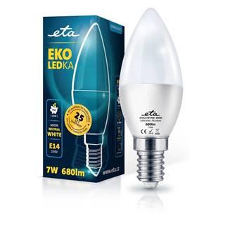 LED žiarovka ETA EKO LEDka sviečka 7W, E14, neutrálna biela