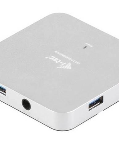 USB Hub i-tec USB 3.0 / 4x USB 3.0 strieborný