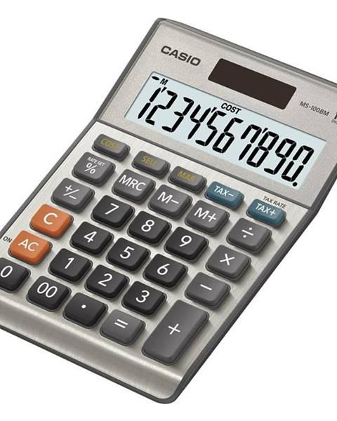 Casio Kalkulačka Casio MS 100 B  siv