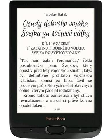 Čítačka kníh Pocket Book 616 Basic Lux 2 čierna