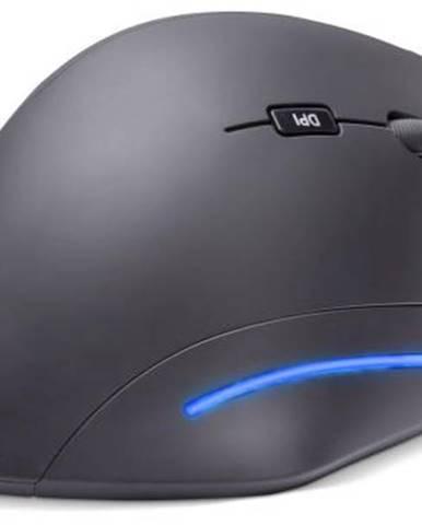 Myš  Connect IT Vertical Ergonomic čierna / optická / 6 tlačítek /