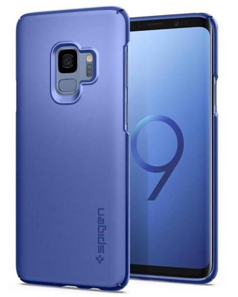 Spigen Kryt na mobil Spigen Thin Fit na Samsung Galaxy S9 - coral blue