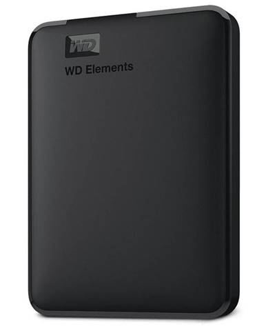 Externý pevný disk Western Digital Elements Portable 2TB čierny