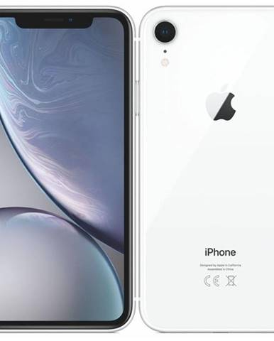 Mobilný telefón Apple iPhone XR 128 GB - white