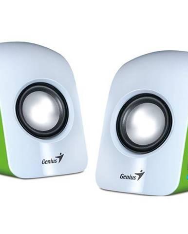 Reproduktory Genius SP-U115 2.0 biele/zelené