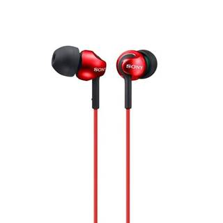 Slúchadlá Sony Mdrex110lpr.AE červená