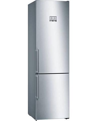Kombinácia chladničky s mrazničkou Bosch Serie   6 Kgn39aidr nerez