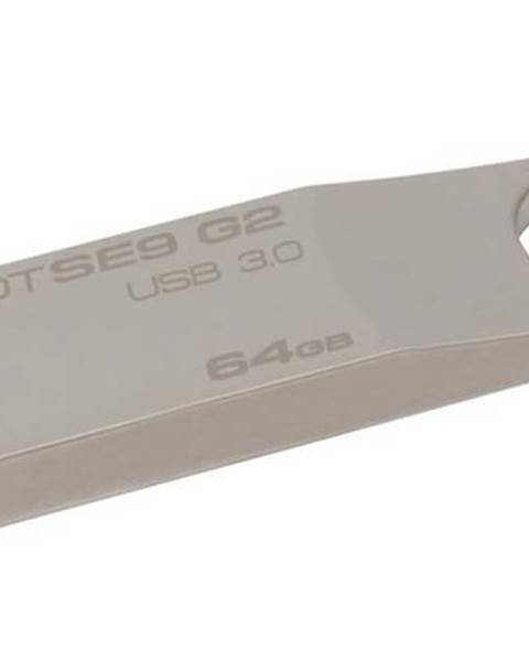 Kingston USB flash disk Kingston DataTraveler SE9 G2 64GB kovový