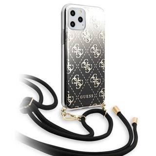 Kryt na mobil Guess 4G Gradient na Apple iPhone 11 Pro čierny