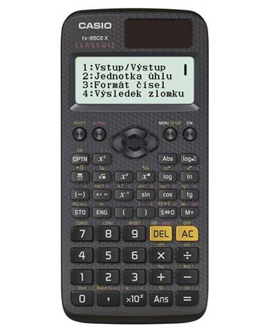 Kalkulačka Casio ClassWiz FX 85 CE X čierna