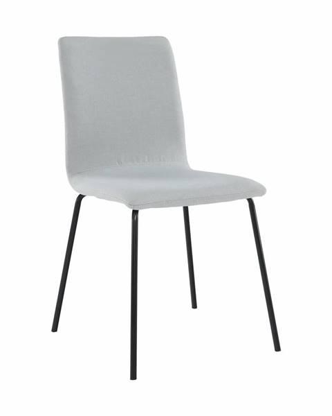 Tempo Kondela Jedálenská stolička svetlosivá/čierna RENITA