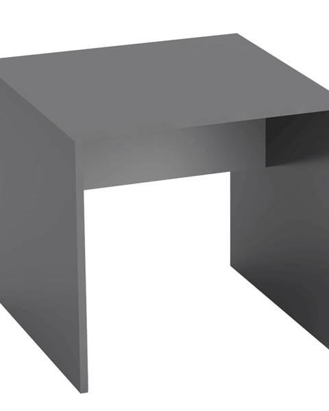Tempo Kondela Písací stôl grafit/biela RIOMA TYP 17