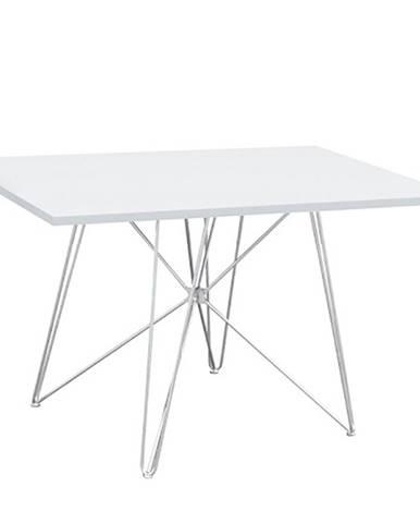 Jedálenský stôl MDF/biela/HG lesk ARTEM