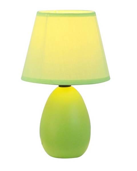 Tempo Kondela Keramická stolná lampa zelená  QENNY TYP 13 AT09350