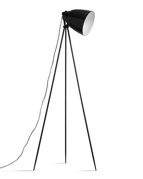 Kondela Stojacia lampa čierny kov CINDA TYP 5 YF6249