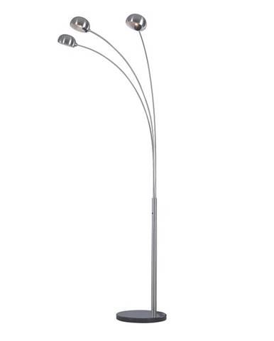 Stojacia lampa sivý kov/mramor CINDA TYP 1 YF04-3