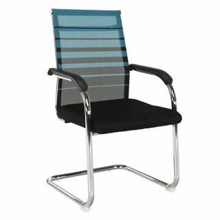 Zasadacia stolička modrá/čierna ESIN