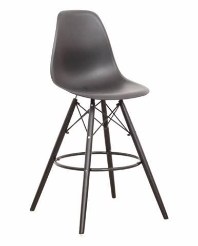 Barová stolička čierna CARBRY NEW