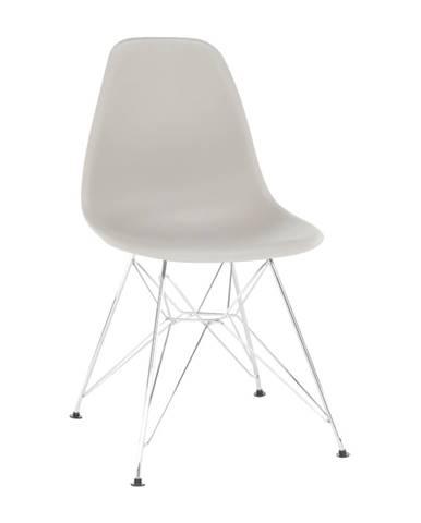 Stolička teplá sivá ANISA 2 NEW
