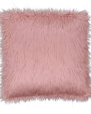 Vankúš ružová/zlatoružová 45x45 FOXA TYP 3