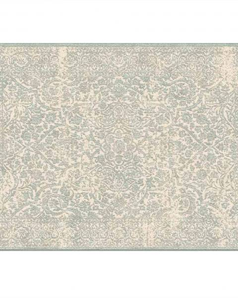 Tempo Kondela Koberec krémová/sivý vzor 140x200 ARAGORN
