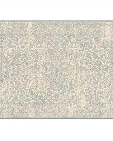 Koberec krémová/sivý vzor 67x105 ARAGORN