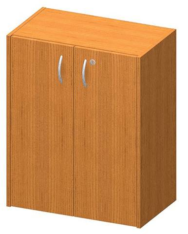 Nízka skrinka so zámkom čerešňa TEMPO ASISTENT NEW 011