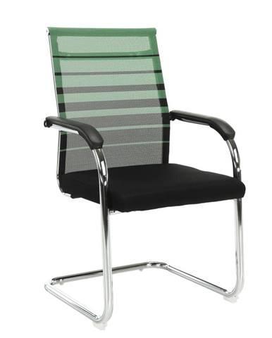 Zasadacia stolička zelená/čierna ESIN