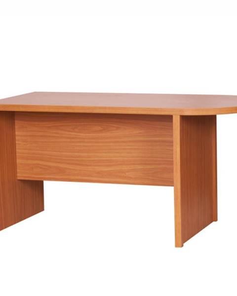 Tempo Kondela Zasadací stôl s oblukom čerešňa americká OSCAR T03