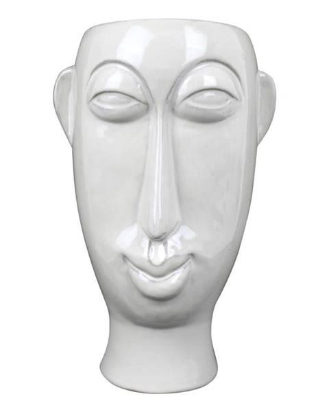 PT LIVING Biela porcelánová váza PT LIVING Mask, výška 27,2 cm