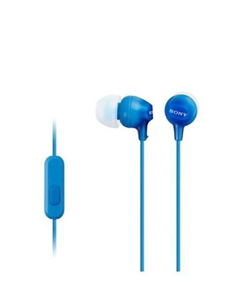 Sony Slúchadlá Sony Mdrex15apli.CE7 modrá