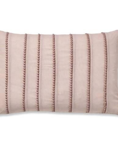 Ružová obliečka na vankúš Catherine Lansfield Blush, 30x40cm