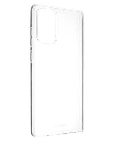 Kryt na mobil Fixed Skin na Samsung Galaxy Note20 priehľadný