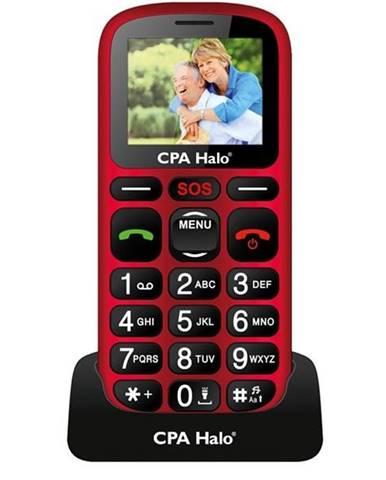 Mobilný telefón CPA Halo 16 Senior červený