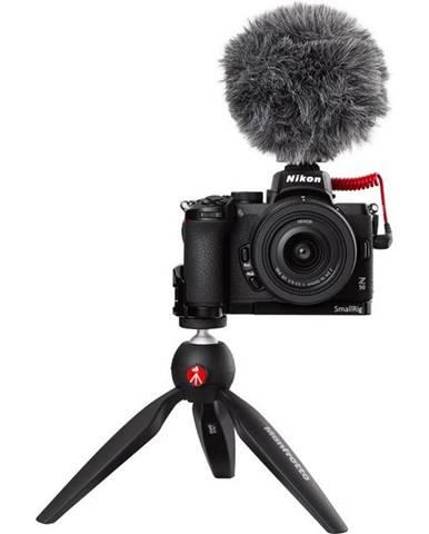 Digitálny fotoaparát Nikon Z50 + 16-50 VR Vlogger Kit čierny